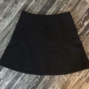 J.Crew black dressy skirt 4 Small Sm
